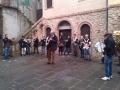 Quando la pioggia da tregua la smIF non si fa desiderare e scorrazza per le strade di Batignano